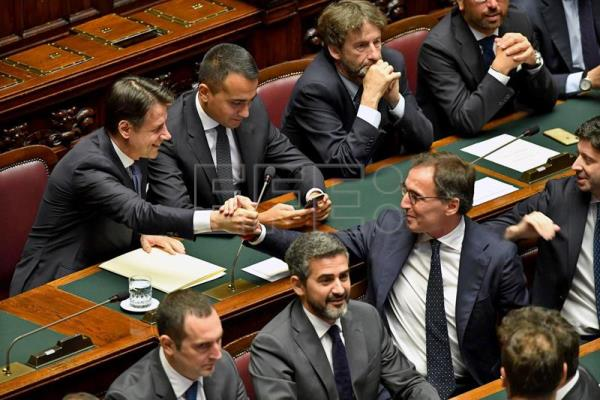 New Conte government faces first confidence test