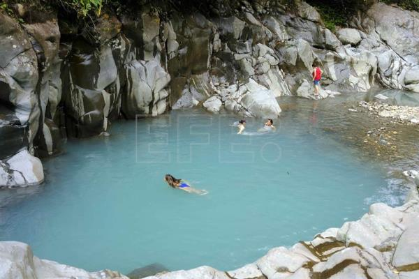 Photo Provided On Sept 10 2017 Showing Tourist Swimming At Poza Azul Near