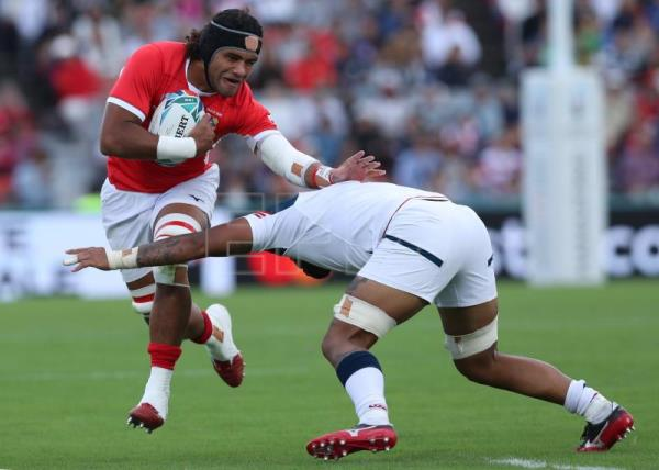 Rugby World Cup organizers cancel Namibia v Canada match due to typhoon