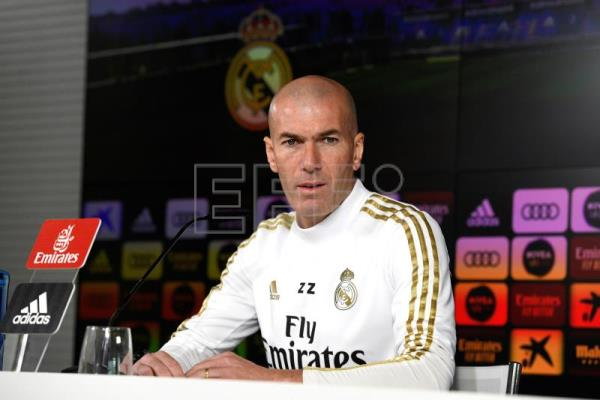 Zidane: We'll think about El Clásico later