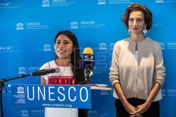 Yalitza Aparicio to fight for indigenous rights as new UNESCO ambassador