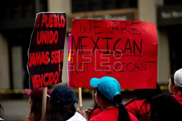 Migrant Workers In Us March In New York La On International Labor