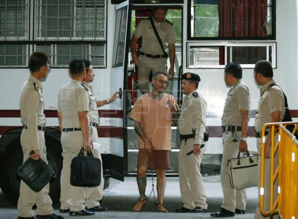 Spaniard on death row appeals sentence in Thai top court