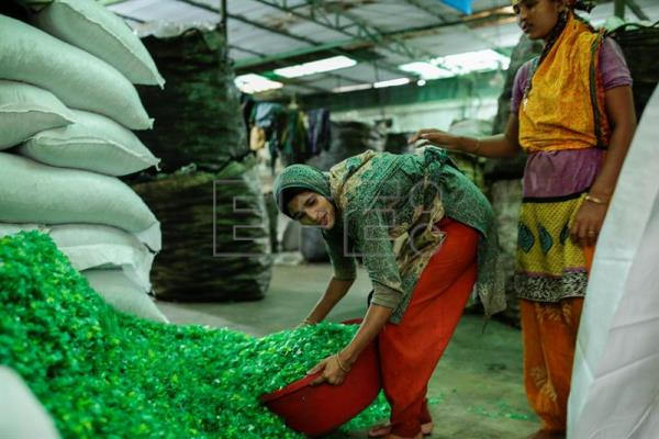 Plastic Factory In Dhaka Part Of Growing Recycling