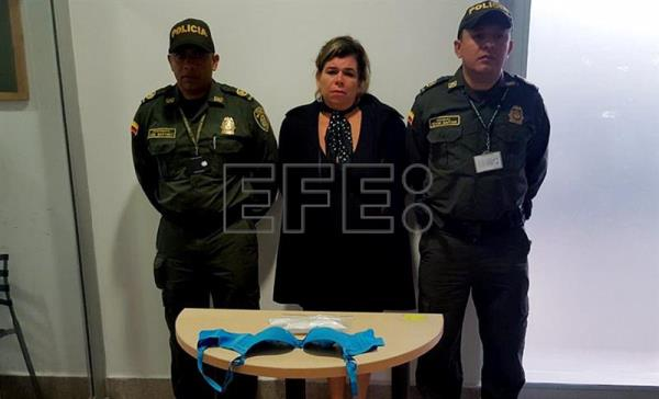 Colombian police arrest Brazilian woman smuggling cocaine to Switzerland