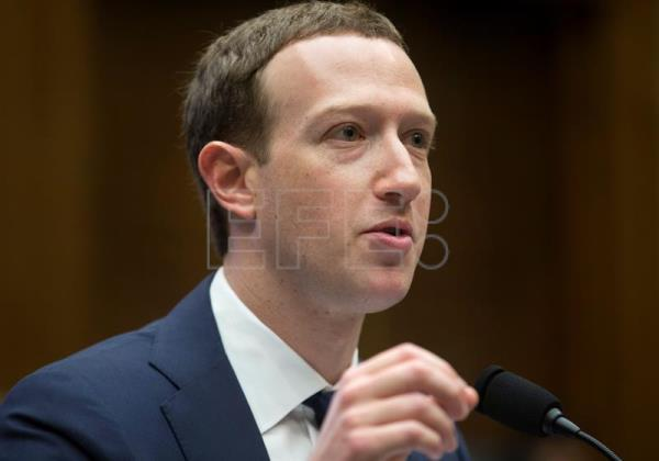 Mark Zuckerberg em foto de abril de 2018. EPA/MICHAEL REYNOLDS
