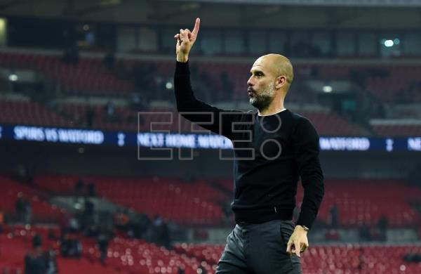 Manchester City manager Pep Guardiola. EFE/Archivo