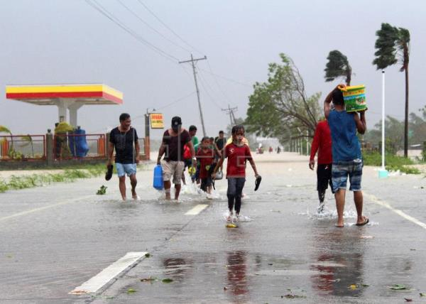 At least 10,000 evacuated in northern Philippines due to Typhoon Yutu