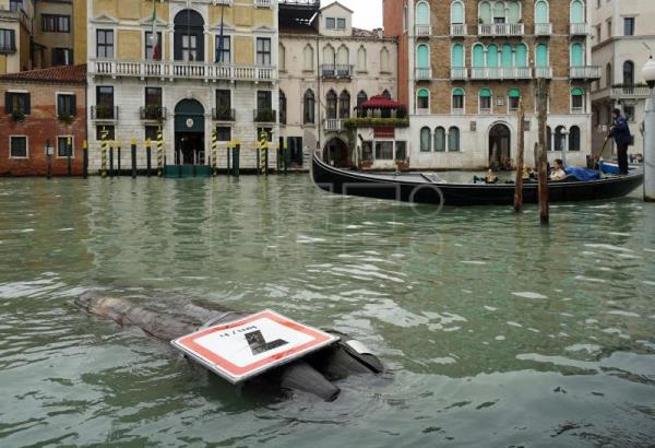Spanish artist Joan Miró tapestries in Venice exhibition damaged by flooding