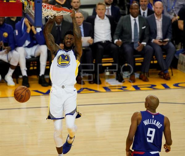 Clippers sorprenden a Warriors; Heat y Timberwolves consolidan lideratosState Warriors