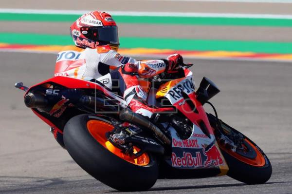 Marquez claims 9th pole position of season