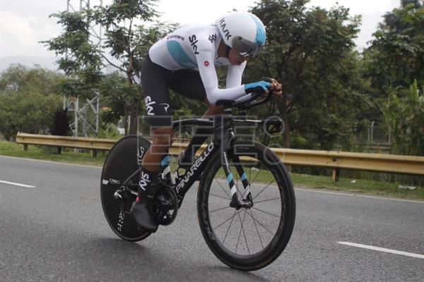 Bernal wins Colombian time trial title