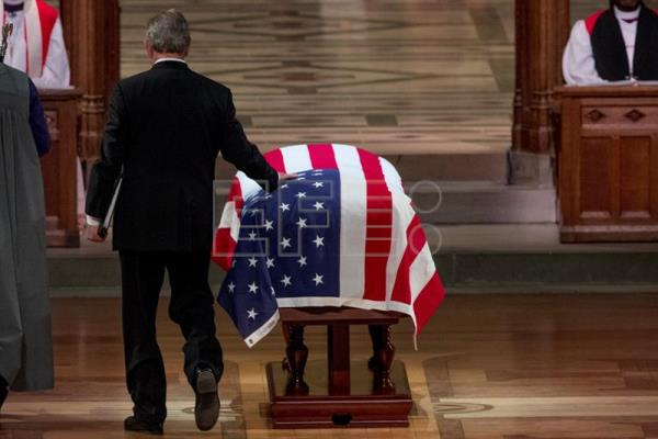 Washington se despide de George H.W. Bush con un emotivo funeral de Estado