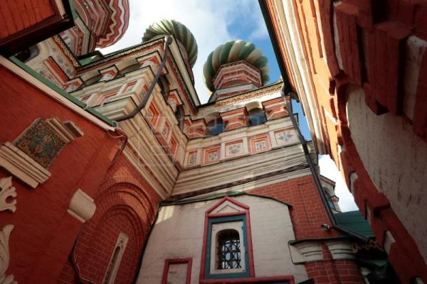 Small Russian church from St Basil Complex re-opens after renovations