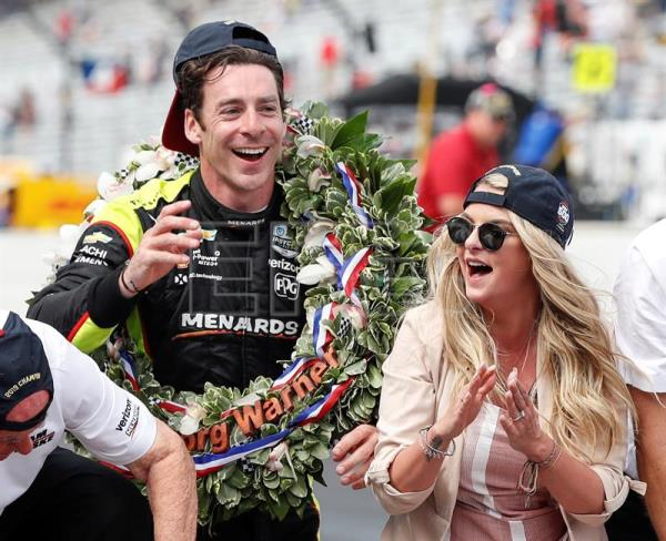France's Simon Pagenaud wins Indianapolis 500 for the 1st time