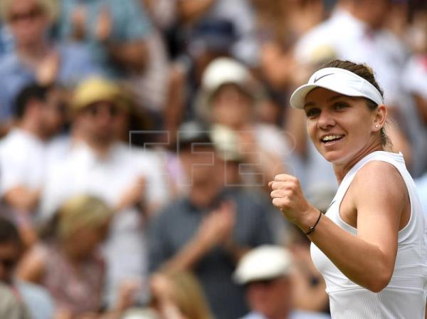 Serena Williams and Simona Halep reach Wimbledon final