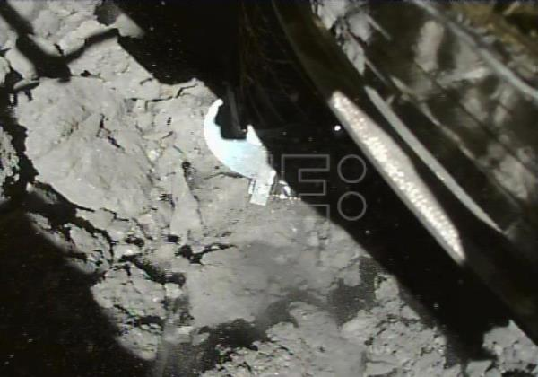 Japanese space probe takes underground samples from remote asteroid