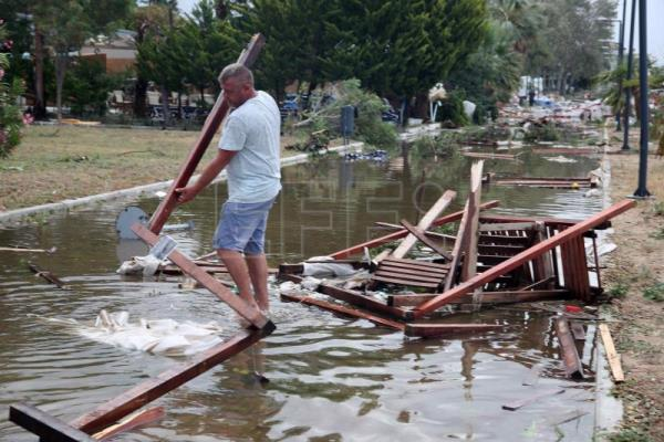 7 dead and dozens injured in Greek storm