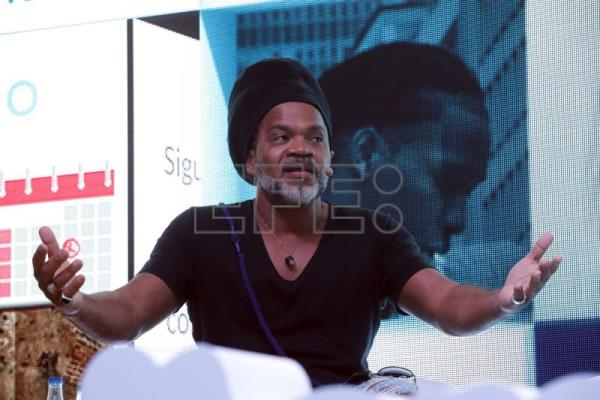 Carlinhos Brown em foto de 2017. EFE/ANGEL DIAZ