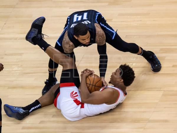 111-82: Toronto Raptors iguala la eliminatoria con los Orlando Magic