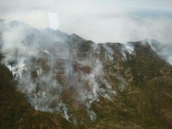 Firefighters battle wildfires in 18 Mexican states