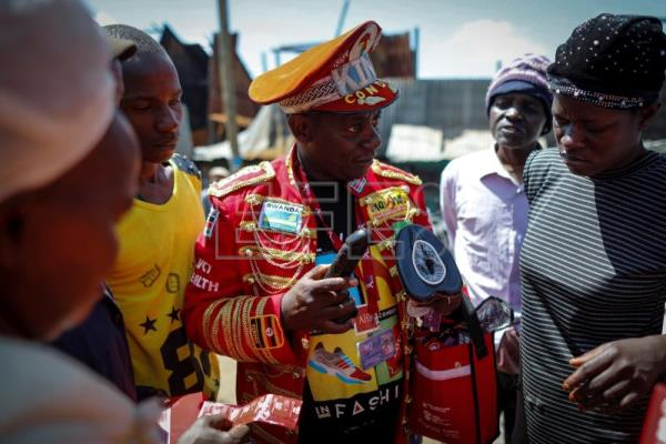 Every day is HIV awareness day for Kenya's King of Condoms