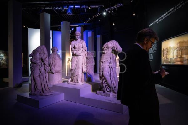 Sublime 360° digital reconstruction of ancient Roman city previewed in Berlin