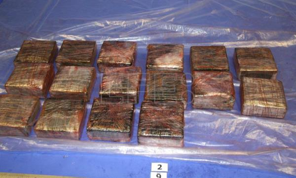 New Zealand police, customs seize 190 kg cocaine on a ship from