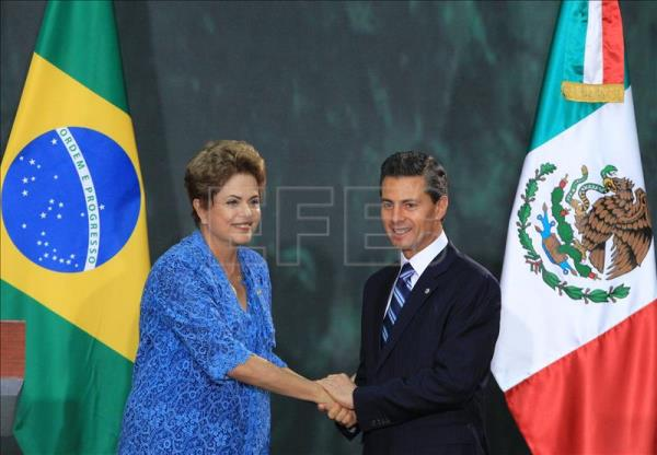 Mexico, Brazil look to bolster trade, cooperation