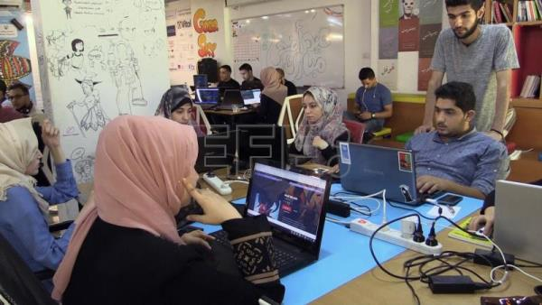 The tech hub that flourished against all odds in Gaza