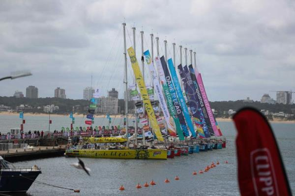Two Spaniards out to make history in Clipper Race