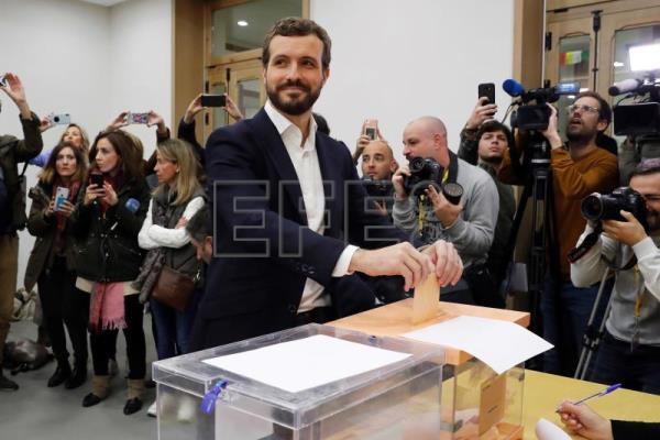 Socialists largest party in Spain's repeat vote, far-right jump to 3rd place