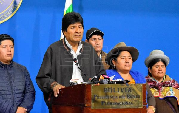 Evo Morales announces new elections in Bolivia after the OAS report