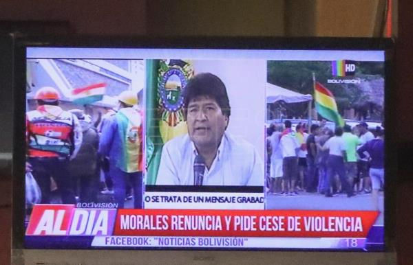 Bolivia's Evo Morales resigns presidency after almost 14 years in power