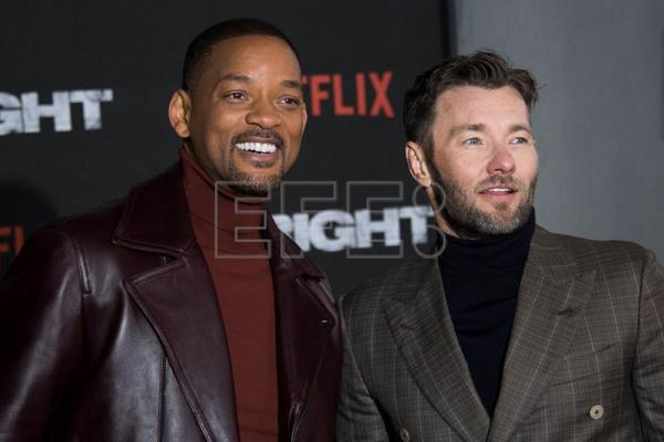 El actor Will Smith posa junto al actor australiano Joel Edgerton. EFE/Archivo