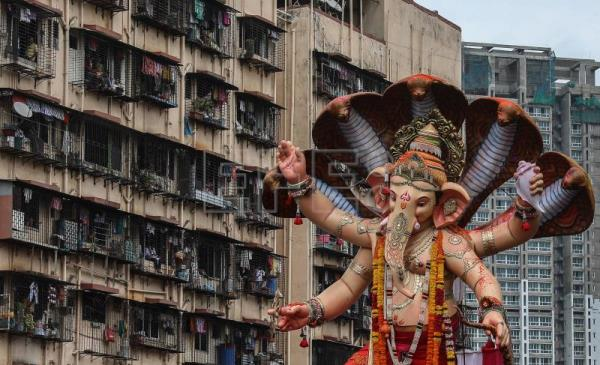 Lord Ganesha's birthday celebrated in India