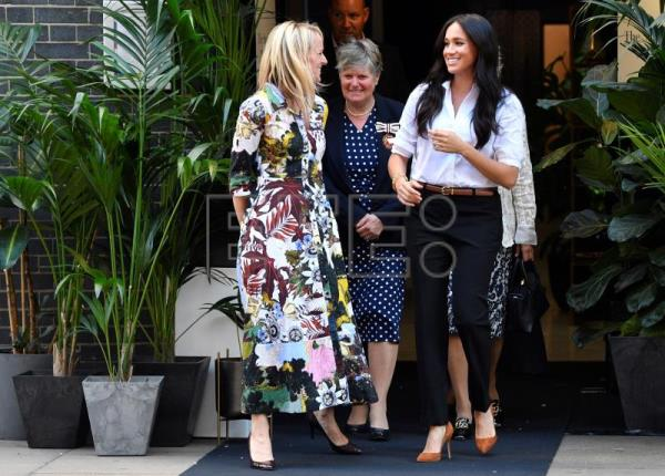 Meghan Markle launches charity capsule collection