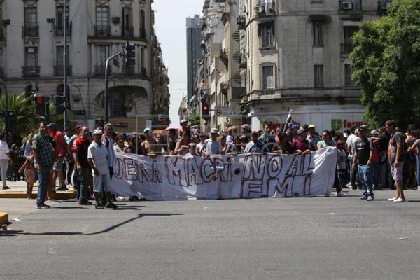 Thousands in Argentina protest austerity