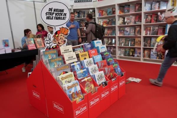 Annual Comic Strip Festival takes place in Brussels