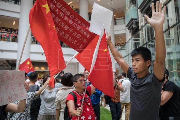 Hong Kong protesters to mark festival with peaceful demonstrations