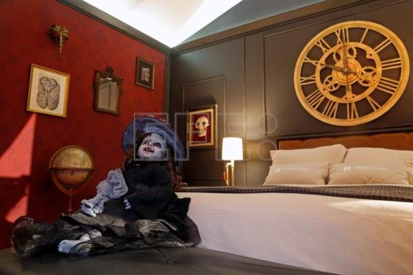 Monsters lurk in hotel room inspired by Mexican filmmaker Guillermo del Toro