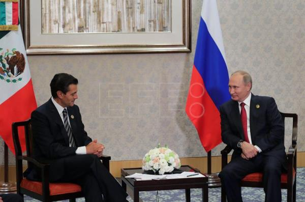 Mexican, Russian leaders agree to boost economic relations