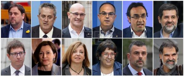 Spain's Supreme Court jails Catalan leaders for up to 13 years for sedition
