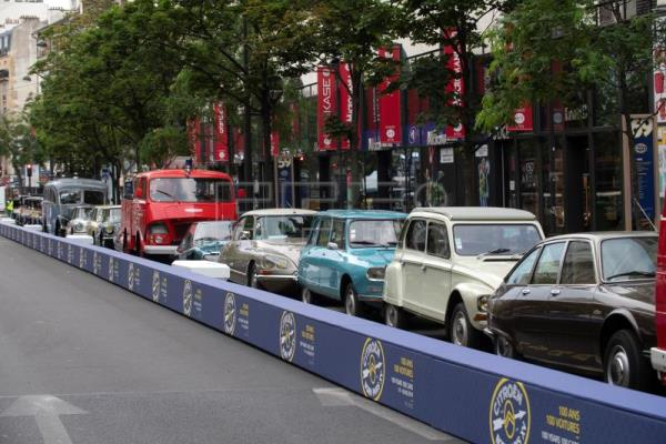 Citroën marks 100 years of innovation with public display in Paris