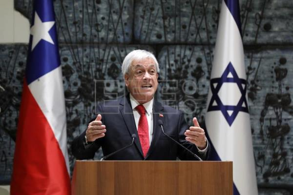 Chilean president Piñera hails long friendship with Israel