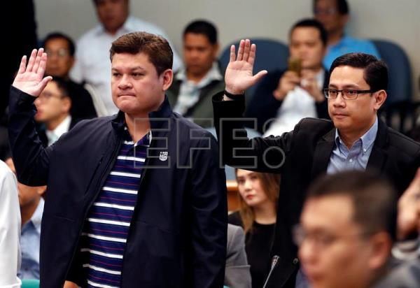 Duterte's son cleared of involvement in drug-trafficking case in Philippines