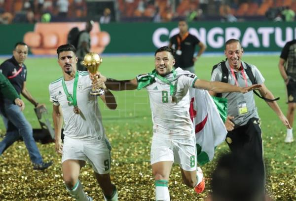 Algeria top Senegal 1-0 to win 2nd Africa Cup of Nations title