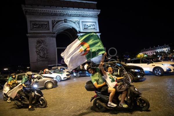 198 arrested in France following Algeria's AFCON win