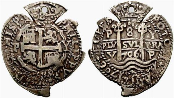 foto de Old Spanish heart shaped coins will be focus of Bolivia