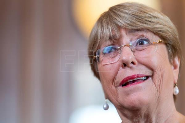 "Bachelet: ""Climate change will damage human rights"""